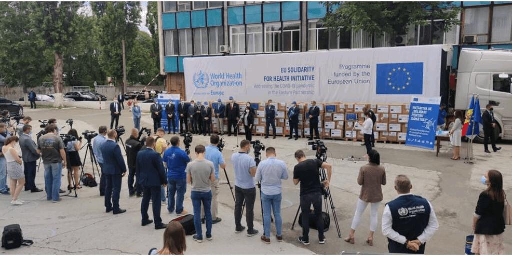 Bijzondere ritten Oost: Covid-19 hulpgoederen van WHO & EU